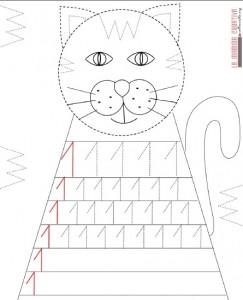 cat number 1 trace worksheet