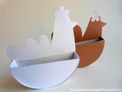 chicken basket craft (2)