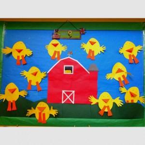 chicken bulletin board