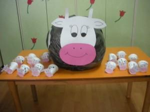 cow bulletin board idea
