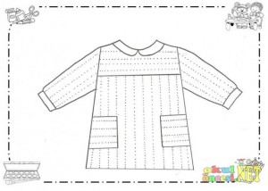 dress trace worksheet