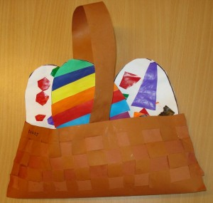 easter egg basket craft idea for kids (4)