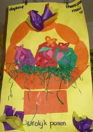 easter egg basket craft idea for kids (7)