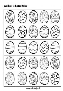 easter worksheet for kids