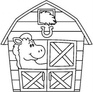 farm coloring page (5)