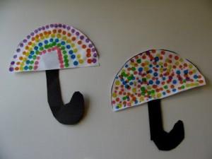 finger print umbrella