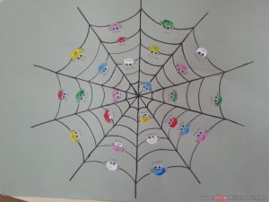 fingerprint spider bulletin board