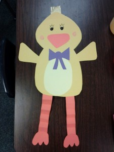 free easter chick craft idea for kids (1)