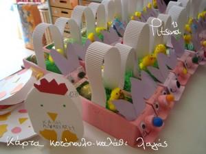 free easter egg basket craft (2)