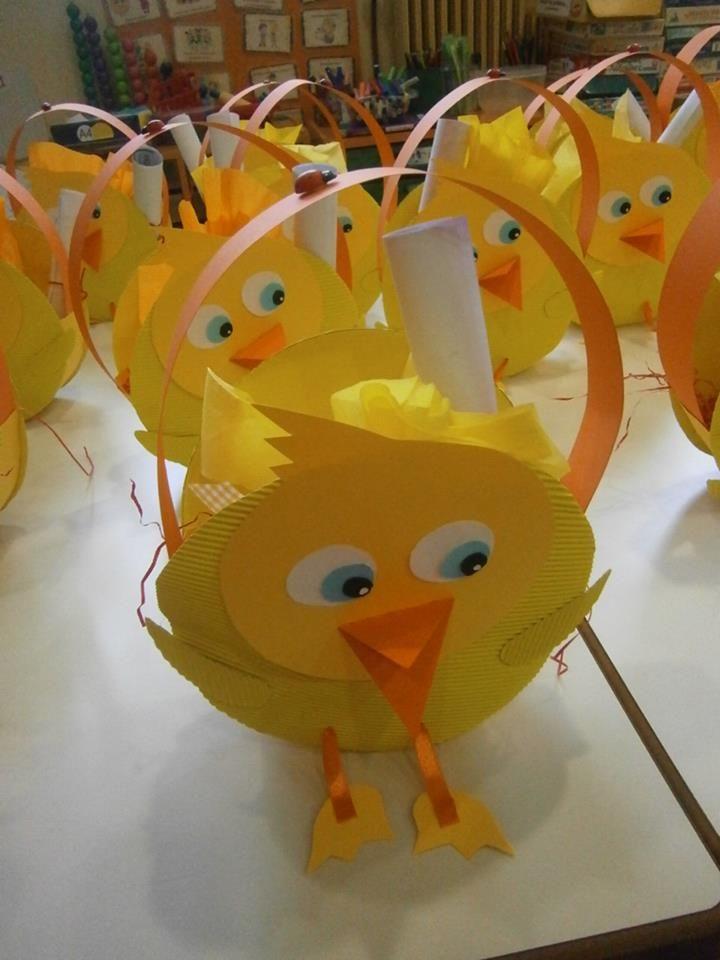free easter egg basket craft (3)