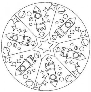 free space coloring page (2)