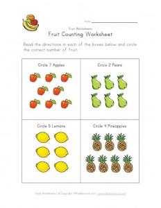 fruit-counting-worksheet