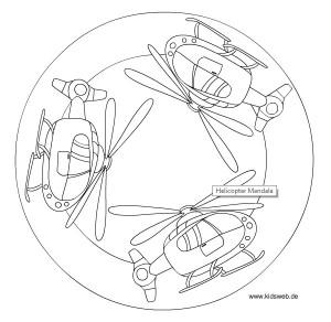 helicopter mandala