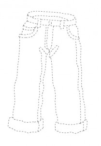 jeans trace worksheet