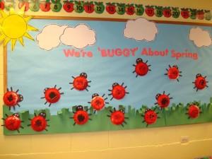 ladybug bulletin board