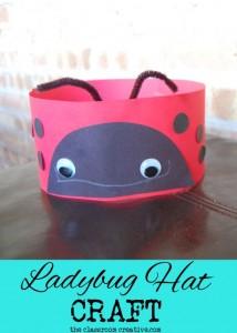ladybug head band crafts
