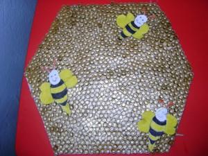 pasta bee bulletin board