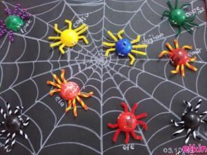 ping pong ball spider bulletin board