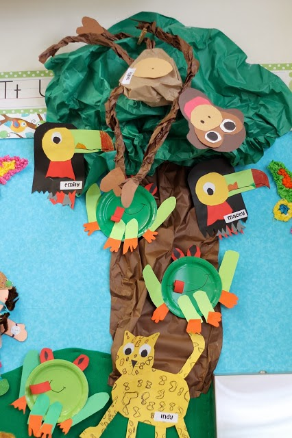 rainforest bulletin board