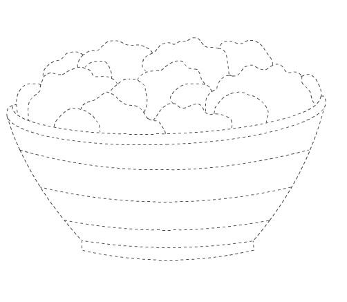 salad trace worksheet