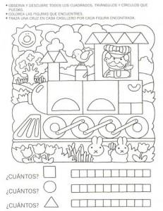 shape train worksheet
