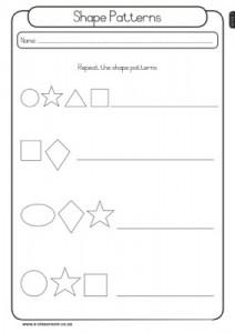 shapes pattern