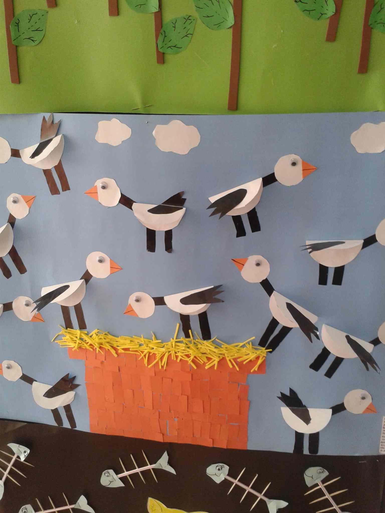 stork bulletin board