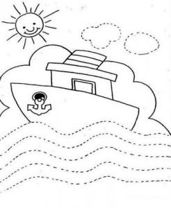 trace ship worksheet