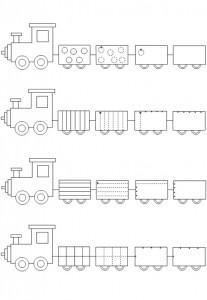 train worksheet