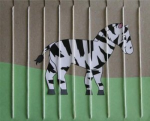zebra craft