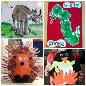 zoo-animal-hand-print-crafts-art-for-kids