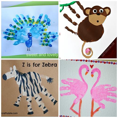zoo-animal-handprint-crafts-for-kids 2
