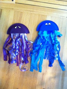 Paper Plate Jelly fish
