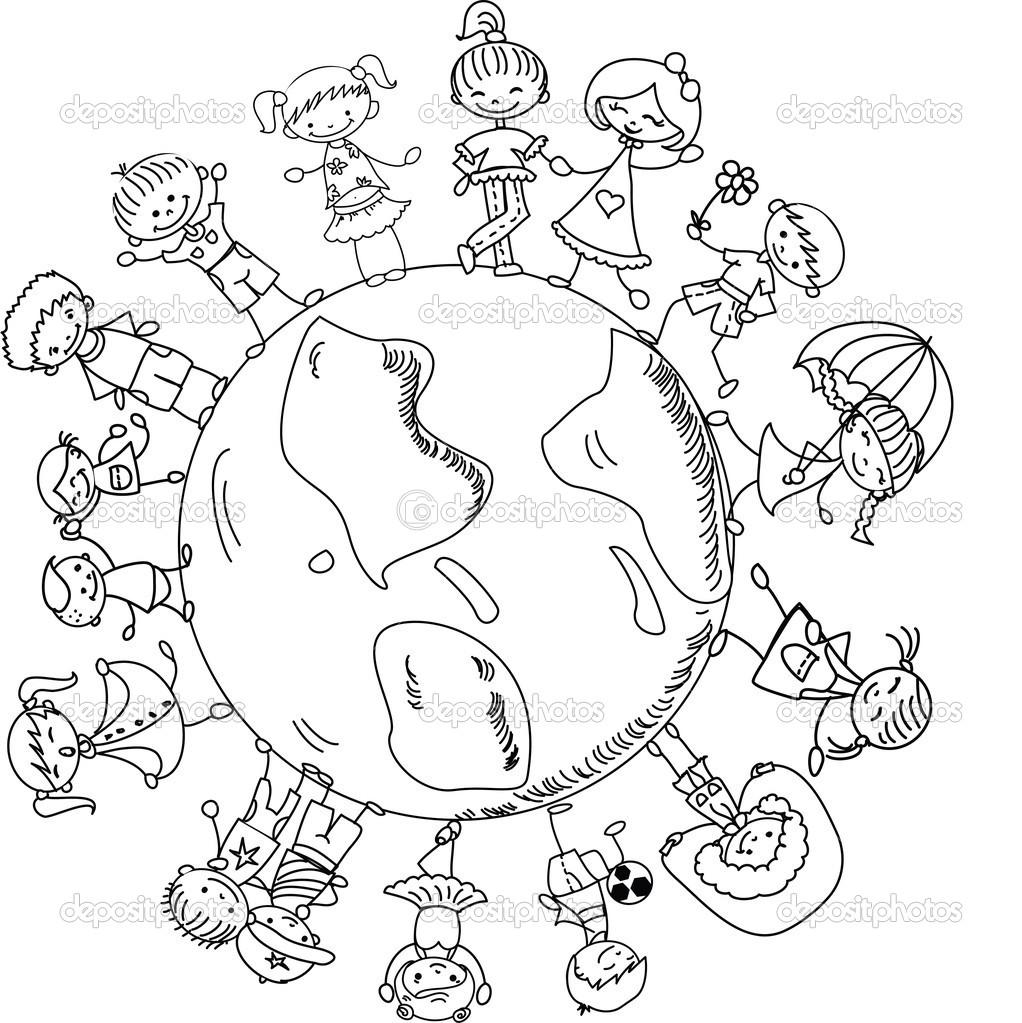 World Thinking Day mandala coloring page (10)