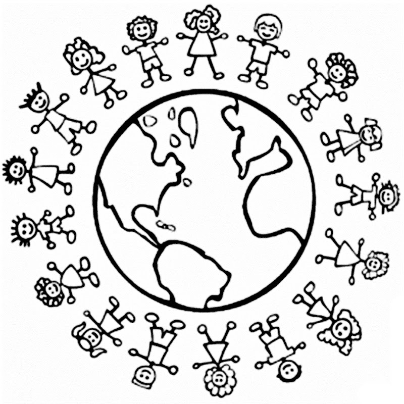 World Thinking Day Mandala Coloring Page (11) Crafts And Worksheets For  Preschool,Toddler And Kindergarten