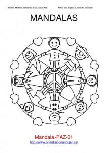 World Thinking Day mandala coloring page (5)