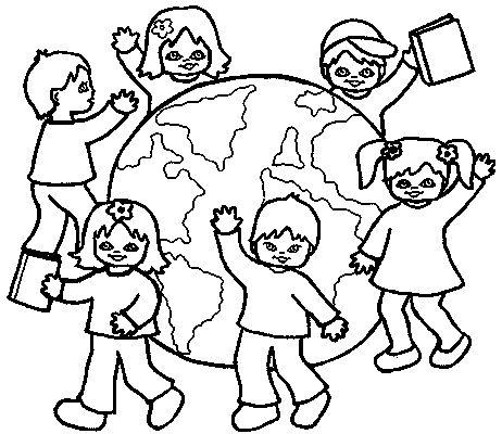 World Thinking Day mandala coloring page (7)