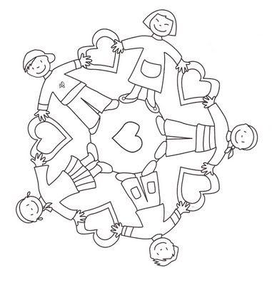 World Thinking Day mandala coloring page (8)