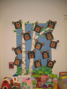 bear bulletin board
