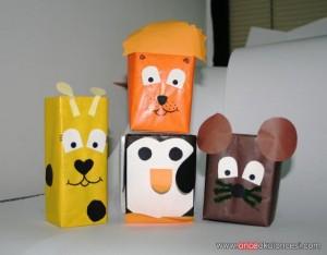 box animals craft