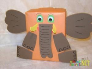 box-elephant-craft