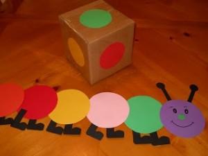 caterpillar craft idea