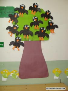 crow bulletin board