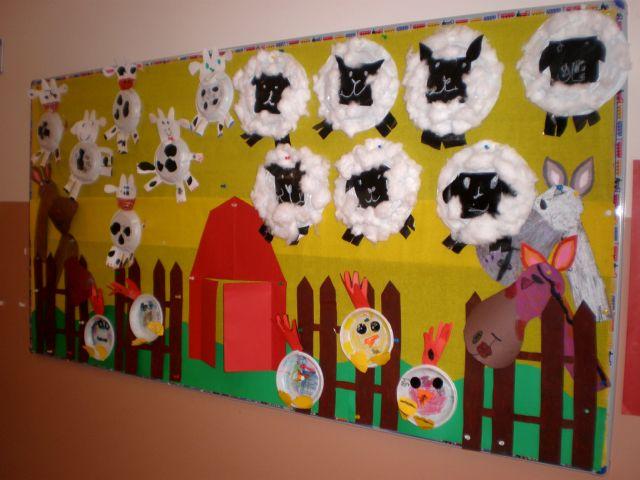 farm animal bulletin board