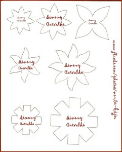 flower template coloring (2)