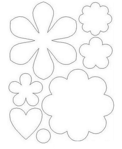 flower template coloring (5)