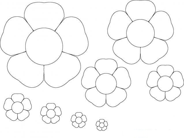 flower template coloring (6)