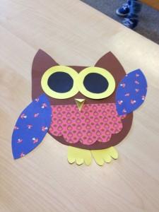 free owl craft idea for kids