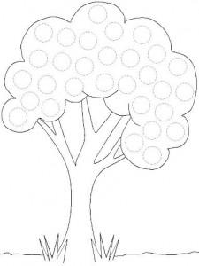 free printable tree trace worksheet (3)