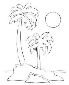 free printable tree trace worksheet (7)